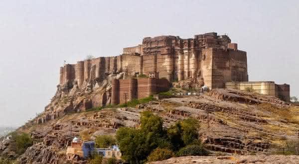 forte de Mehrangarh entre os maiores castelos do mundo