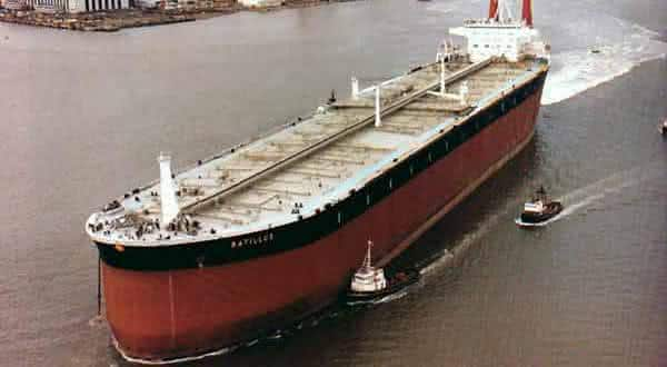 Batillus entre os maiores navios ja construidos