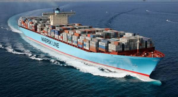 Emma Maersk entre os maiores navios ja construidos