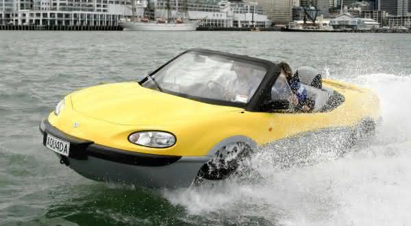 Gibbs Aquada entre os mais incriveis carros anfibios 2
