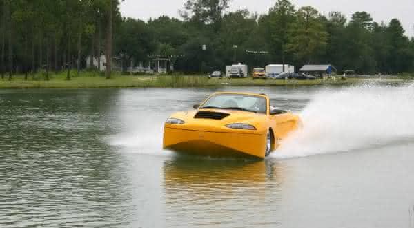 Hydra Spyder entre os mais incriveis carros anfibios