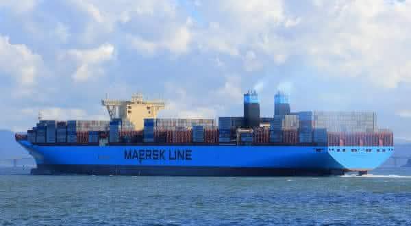 Maersk Mc-Kinney Moller entre os maiores navios ja construidos