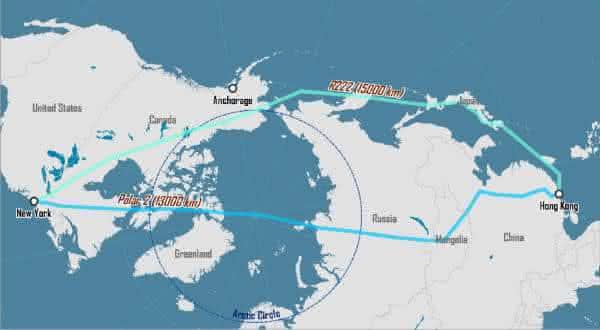 New York JFK Newark EWR Hong Kong HKG entre os voos mais longos do mundo