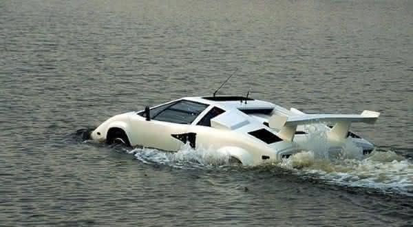 SeaRoader Lamborghini Countach entre os mais incriveis carros anfibios