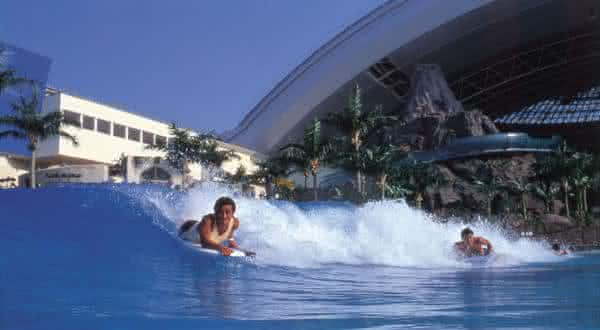 Seagaia Ocean Dome 2 entre as piscinas mais criativas do mundo