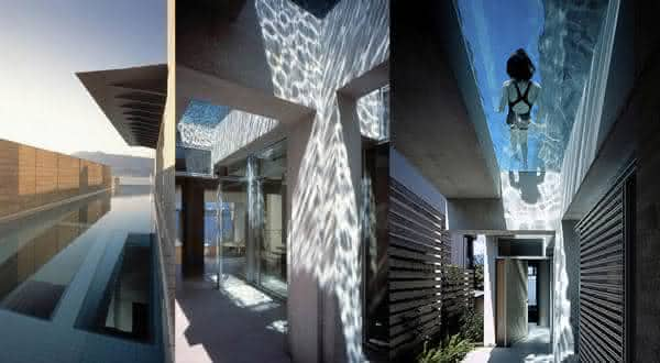 Shaw House entre as piscinas mais incriveis do mundo
