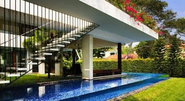 Tangga House 2 entre as piscinas mais incriveis do mundo