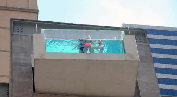 The Joule Hote 2 entre as piscinas mais criativas do mundo