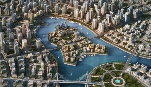 canal marina dubai entre as maiores obras da engenharia no mundo