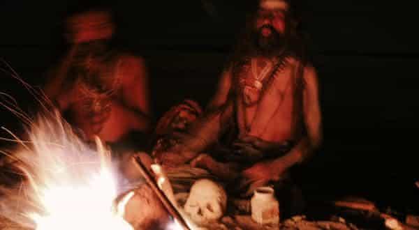 Aghori entre as mais agonizantes praticas religiosas