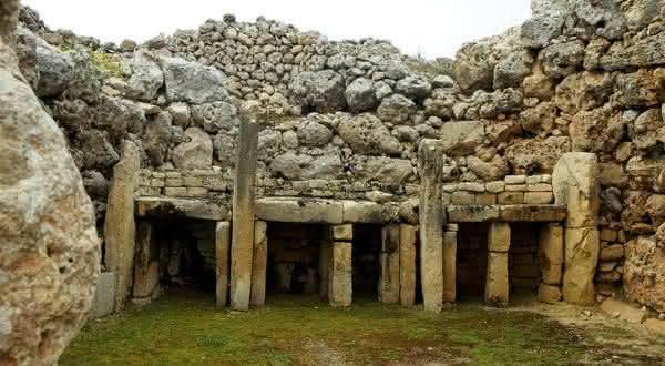 Ggantija entre as construcoes mais antigas do mundo