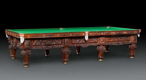 History of Australia Billiard  entre as mesas de sinuca mais caras do mundo