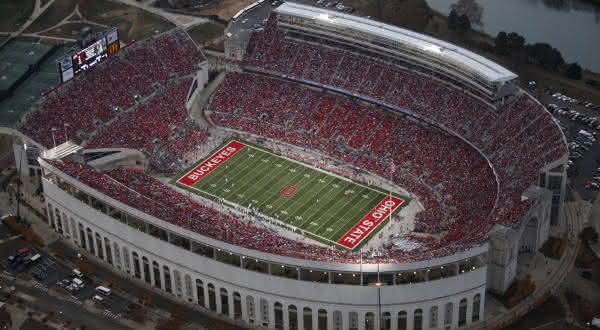 Ohio Stadium entre os maiores estadios do mundo