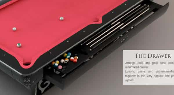 The Luxury Billiard 2 entre as mesas de sinuca mais caras do mundo