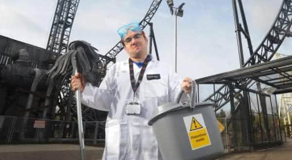 coletor de vomito entre os empregos mais estranhos do mundo