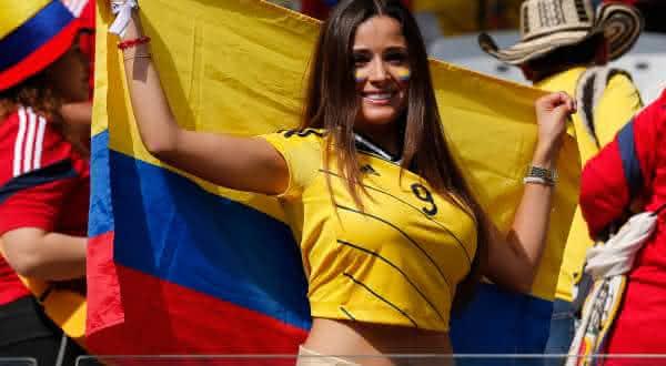 colombia entre os paises com mais mulheres bonita