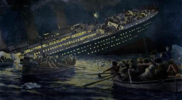 naufragio do titanic entre as previsões que se tornaram verdadeiras