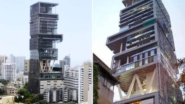 Antilia Mumbai entre as maiores casas do mundo