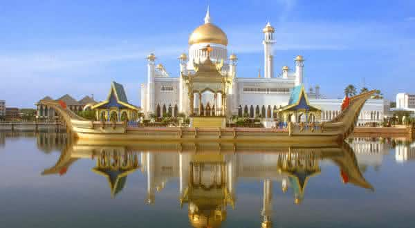 Istana Nurul Iman Palace entre as maiores casas do mundo
