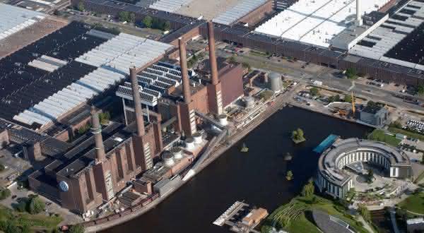 Volkswagen Wolfsburg Plant entre as maiores fabricas do mundo