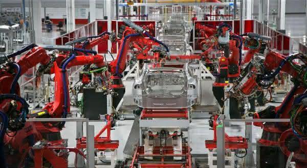 tesla factory entre as maiores fabricas do mundo