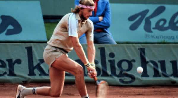 Bjorn Borg entre os melhores tenistas de todos os tempos