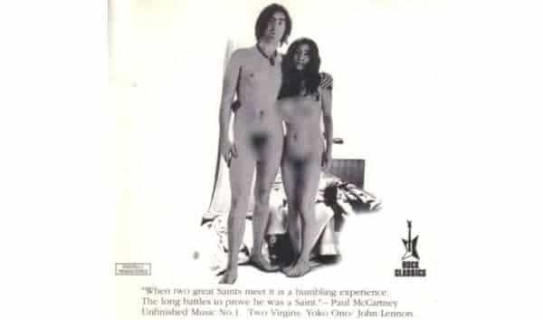 John Lennon Yoko Ono entre os discos de vinil mais valiosos de todos os tempos