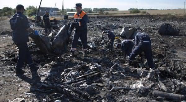 Malaysia Airlines Flight 17 entre os maiores acidentes aereos da historia