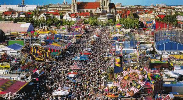 Oktoberfest entre as festas mais populares do mundo