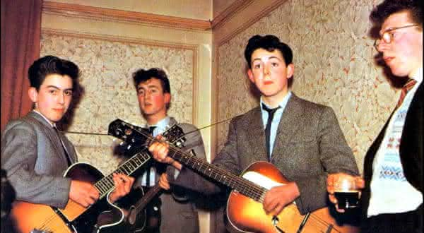 The Quarrymen That ll Be The Day In Spite Of All The Danger  entre os discos de vinil mais valiosos de todos os tempos