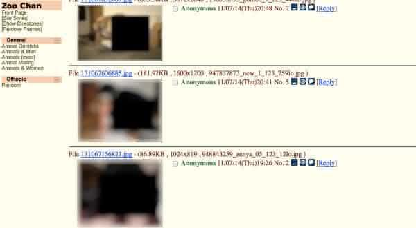 imagens adultas entre as coisas absurdas encontradas na Deep Web