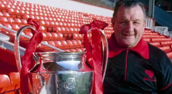 Bob Paisley entre os melhores treinadores de futebol do mundo