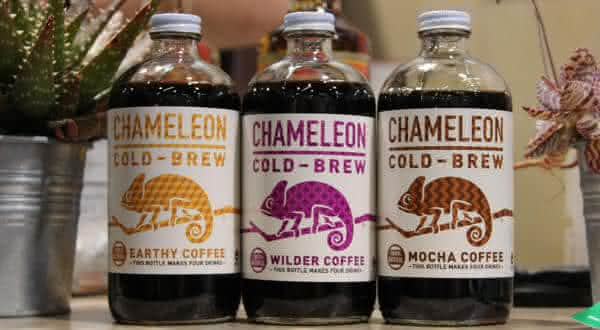 Chameleon Cold-Brew Coffee produtos de cafe mais fortes do mundo