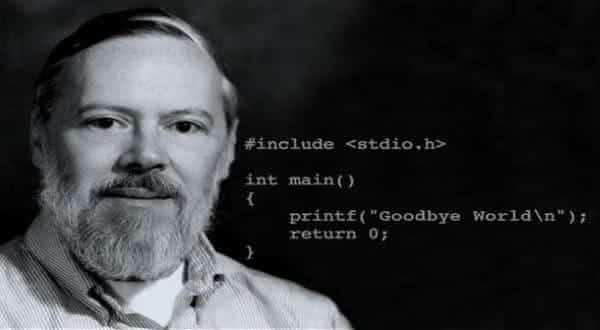 Dennis Ritchie entre os maiores programadores de todos os tempos