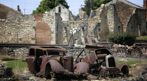 Oradour-sur-Glane entre os lugares mais assustadores do mundo