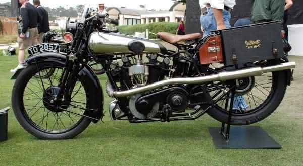 Brough Superior SS100 Alpine Grand Sports 1926 entre as motos mais caras ja vendidas em leilao