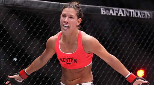 Cortney Casey entre as lutadoras mais bonitas do ufc
