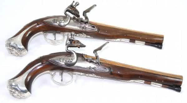 George Washingtons entre as armas de fogo mais caras do mundo