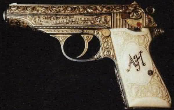 Pistola dourada de Fuhrer entre as armas de fogo mais caras do mundo