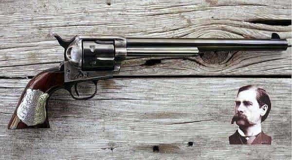 Wyatt Earps Colt entre as armas de fogo mais caras do mundo