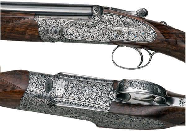 espingarda Royal Deluxe entre as armas de fogo mais caras do mundo