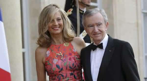 Bernard Arnault  Helene Mercier-Arnault entre os casais mais ricos do mundo