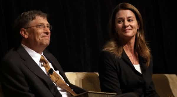 Bill e Melinda Gates entre os casais mais ricos do mundo