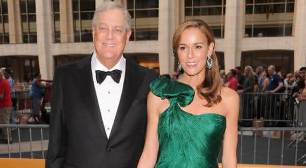 David  Julia Koch entre os casais mais ricos do mundo