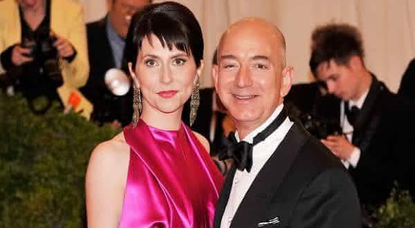Jeff e MacKenzie Bezos entre os casais mais ricos do mundo