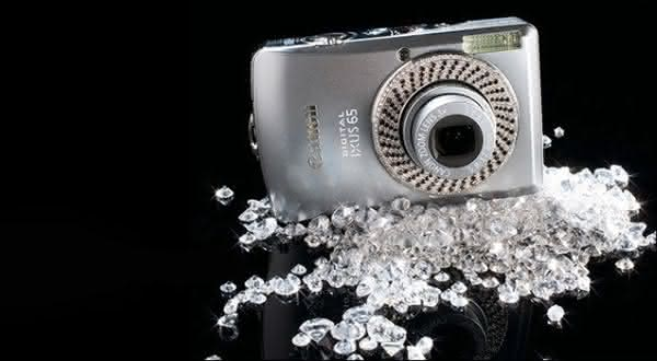 Canon Diamond Ixus entre as cameras digitais mais caras do mundo
