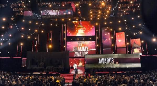 Grammy Awards entre os premios mais famosos do mundo