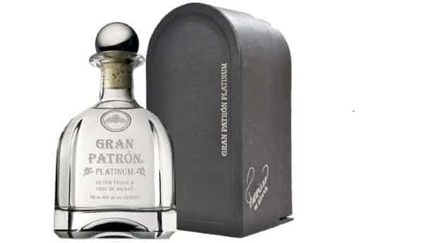 Gran Patron Platinum entre as tequilas mais caras do mundo