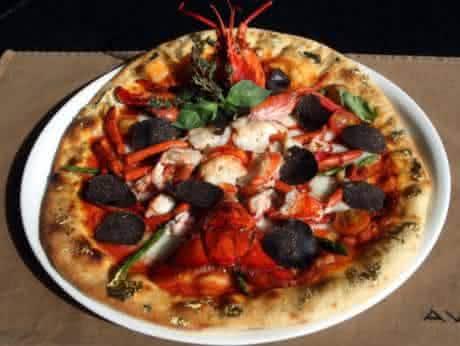 The Article  Tartufo pizzas mais caras do mundo