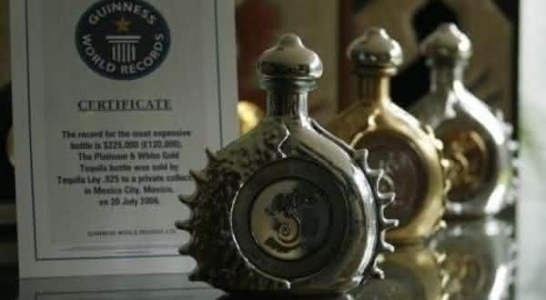 Ultra-Premium Ley Pasion Azteca entre as tequilas mais caras do mundo